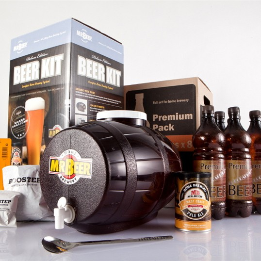 Фото Домашняя мини-пивоварня Mr.Beer Premium Kit