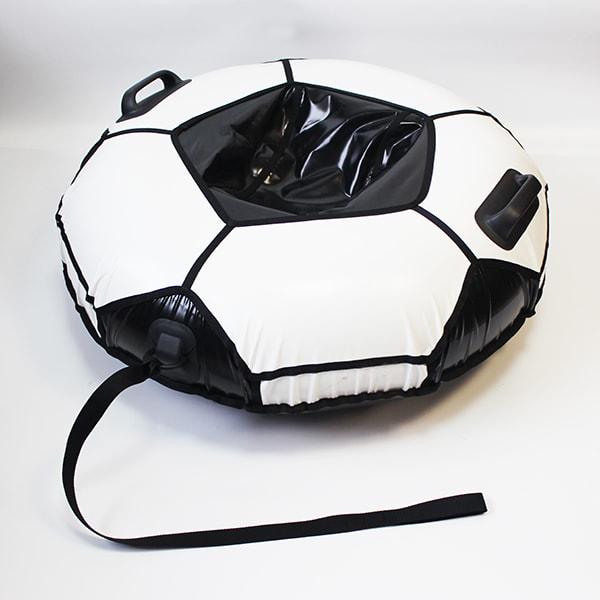 Фото Санки надувные тюбинг (ватрушка) «Мяч Люкс», диаметр 100 см. Быстрик